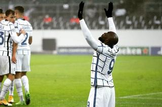 ¡Triunfazo! Inter de Milán, con doblete de Lukaku, vence agónicamente al Gladbach y se mantiene con vida