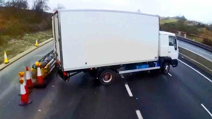 Lastebilsjåfør får svi for livsfarlig manøver