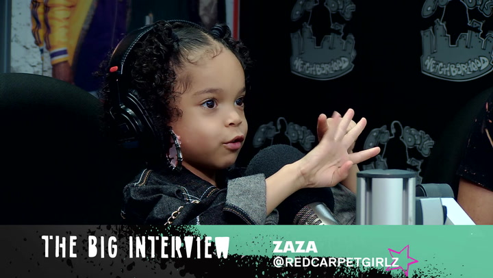 """ZaZa Performs Her Song """"What I Do"""" & Shares Her Love For Cardi B"""