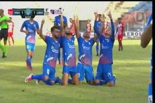 El golazo de Marvin Cálix en La Ceiba que le da empate a la UPN sobre VIda