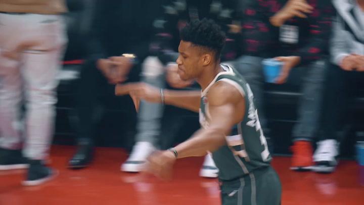 El resumen del Raptors - Bucks, cuarto partido del playoff de la NBA