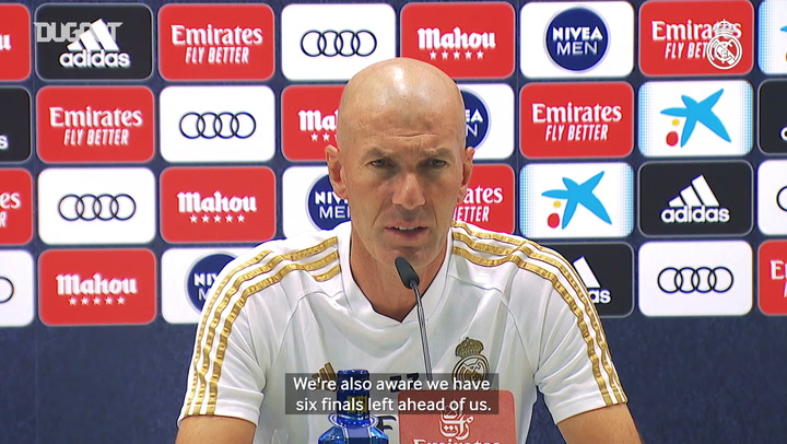 "Zidane: ""We want to continue with our energy and give our all"""