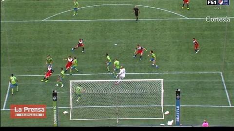 Bryan Acosta marca gol con el FC Dallas ante Seattle Sounders