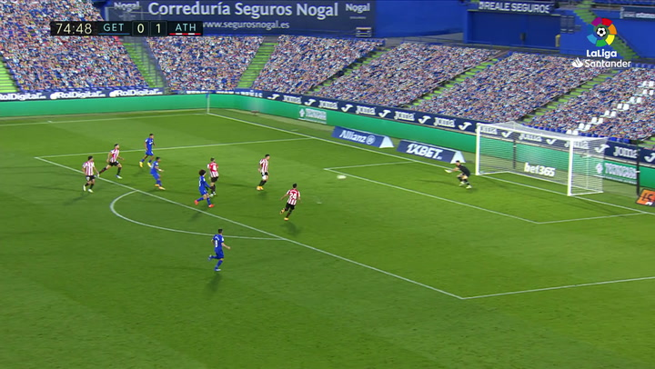 Gol de Ángel (1-1) en el Getafe 1-1 Athletic