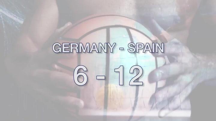 Resumen del Alemania-España de waterpolo