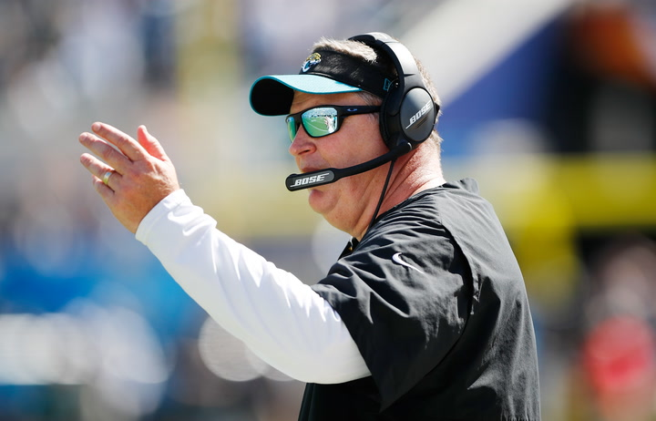 Marrone explains decision to bench Bortles, says the starting QB job is now 'open'