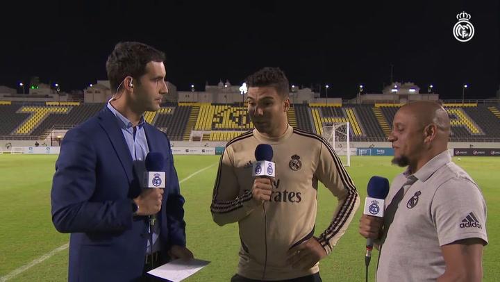 """Casemiro: """"Para ganar al Atlético hay que tener intensidad y hacerlo todo perfecto"""""""