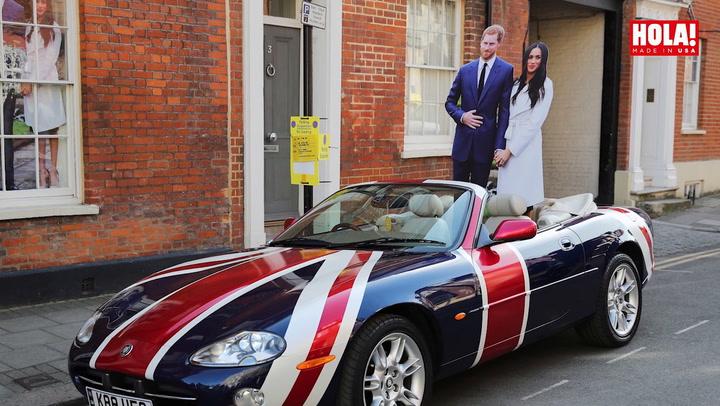 Las imágenes más divertidas que la fiebre por la Boda Real deja en Windsor