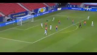Argentina ya está venciendo a Paraguay en la Copa América gracias al Papu Gómez