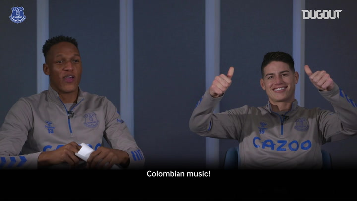 Q&A with Yerry Mina and James Rodríguez