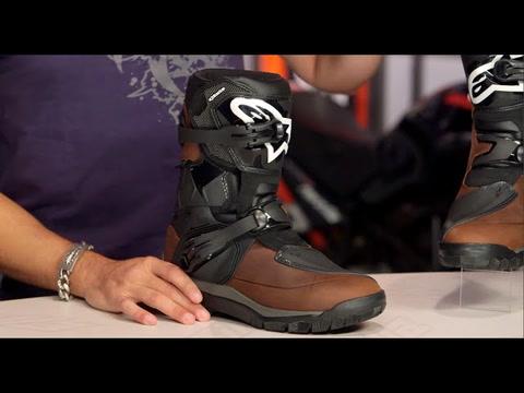 Brown, 11 Alpinestars Mens Belize Drystar Oiled Leather Boot