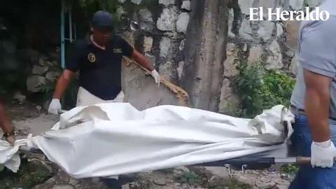 Hombre muere al caer de un barranco en la capital de Honduras