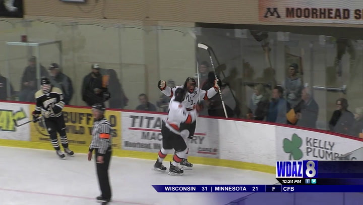 Boys Hockey Roundup Part Two: Moorhead, Red River cruise for first wins of the year