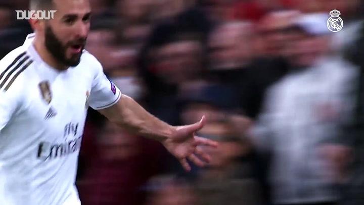 Semua Gol Karim Benzema di Liga Champions (2019-20)