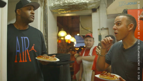 CC Sabathia Finds the Best NY Slice