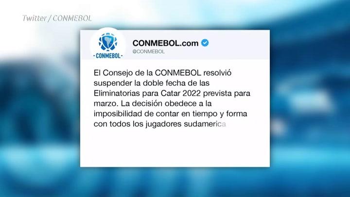 El coronavirus vuelve a interponerse en las eliminatorias y se suspende la doble fecha sudamericana