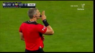 Uruguay está goleando a Ecuador en el estadio Mineirão