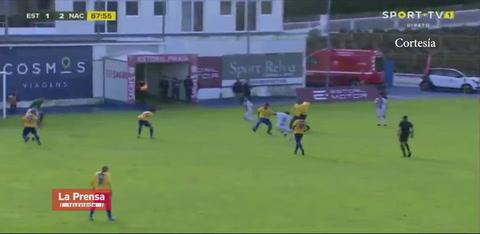 Nuevo gol de Bryan Róchez para triunfo del Nacional en Portugal