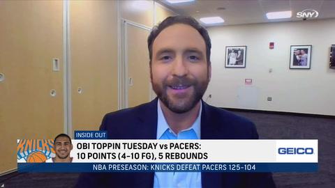 Knicks win preseason opener, Kyrie Irving saga continues