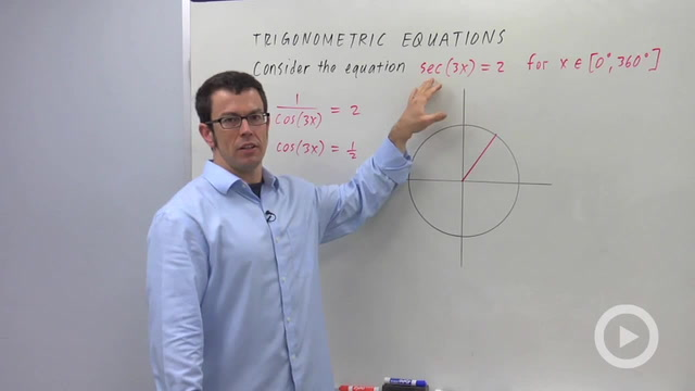 Solving Trigonometric Equations - Problem 3