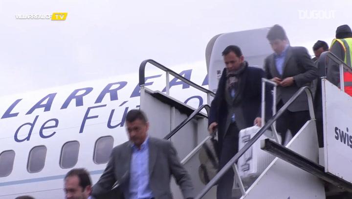 Villarreal CF Land In Glasgow