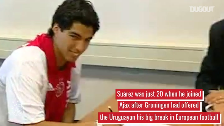 Luis Suárez's rise to stardom at Ajax