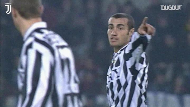 Paolo Montero's best Juventus skills