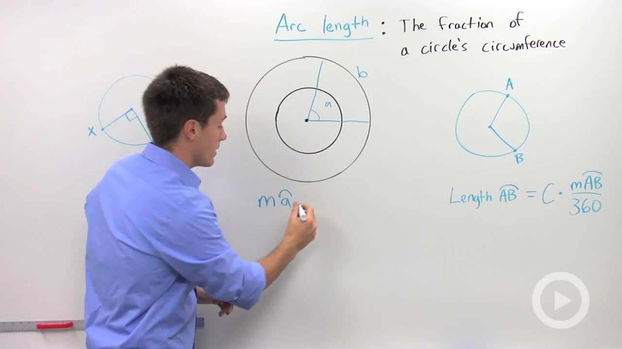 Arc length concept geometry video by brightstorm hexwebz Gallery