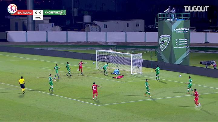 Highlights: Khorfakkan 2-2 Shabab Al-Ahli
