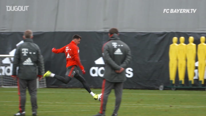 FC Bayern's Training Goals Of The Week #12