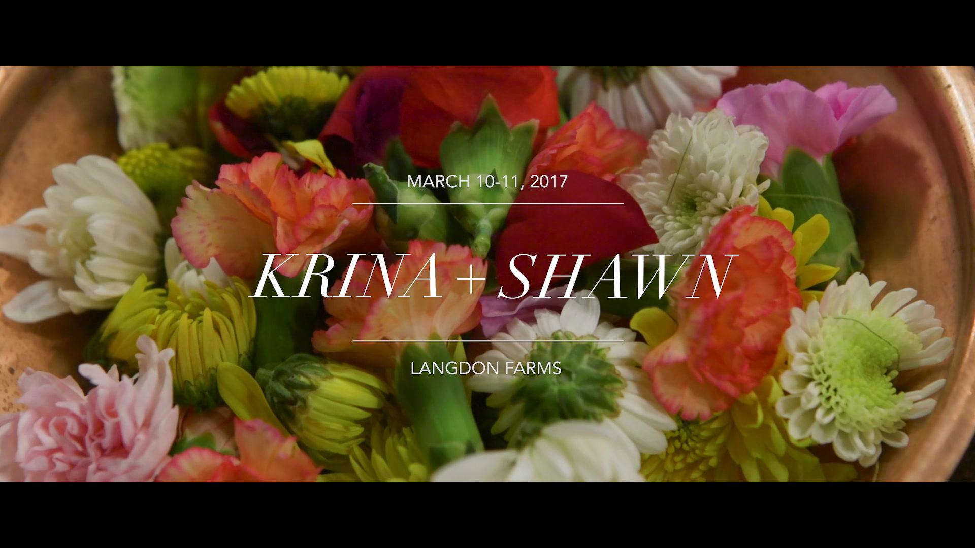 Krina + Shawn | Portland, Oregon | Langdon Farms Golf Club