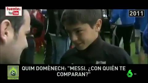 Brahim Díaz era del Barça y su ídolo era Messi