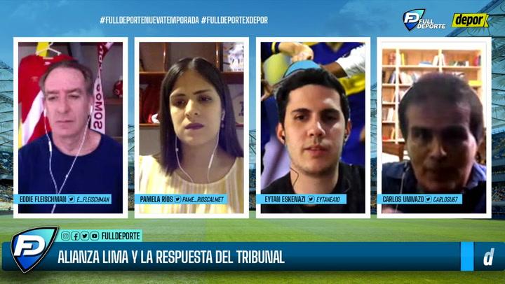 'Full Deporte por Depor': todo sobre la respuesta que recibió Alianza Lima del Tribunal de Apelaciones
