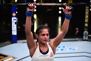 What's next for UFC's Cynthia Calvillo after win over Jessica Eye – Video