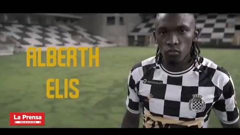 Deportes: Alberth Elis en su presentación como jugador del Boavista: