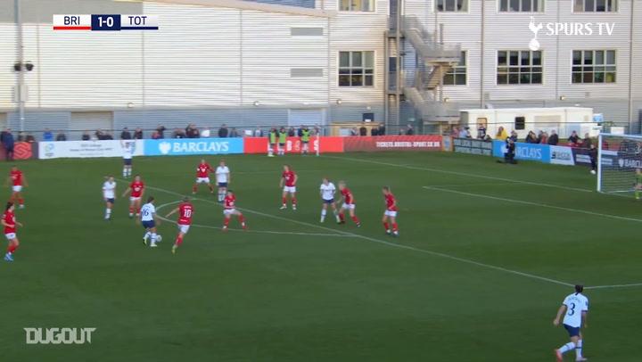 Kit Graham's impressive double sinks Bristol City Women