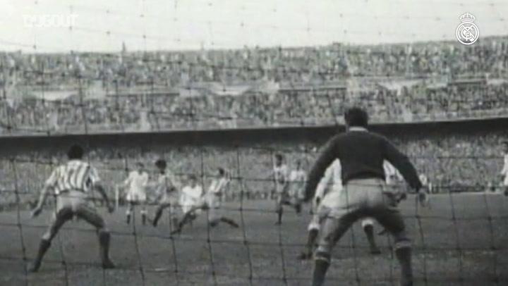 Alfredo Di Stéfano'nun Real Madrid İle En İyi Anları