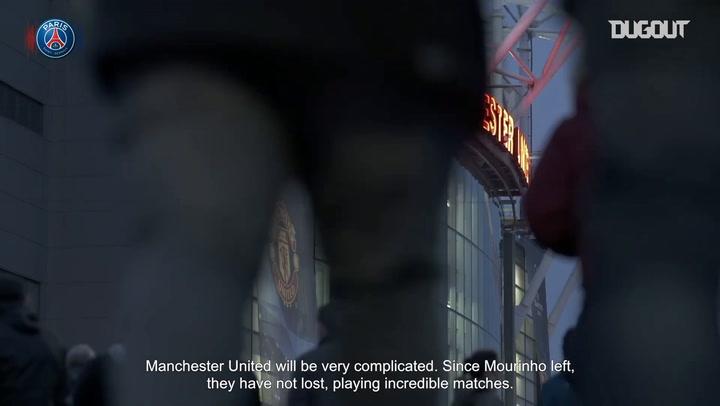 Di María And Alves Preview Manchester United vs PSG