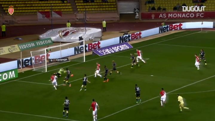Berbatov's first goal at Monaco