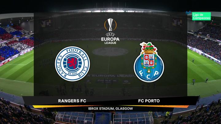 Europa League Resumen y Goles del Rangers -  Porto