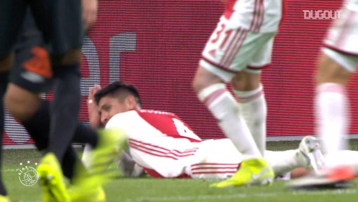 Edson Álvarez's first year at Ajax