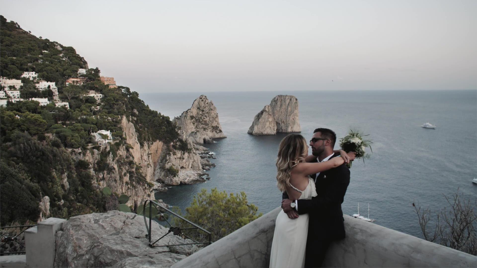 Mirco + Cristina | Capri, Italy | Da Paolino