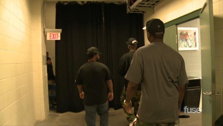 Big K.R.I.T. Backstage
