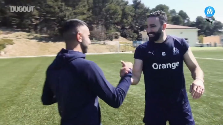 Adil Rami And Valère Germain Skills challenge