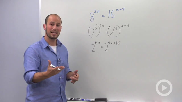 Solving Exponential Equations with the Different Bases