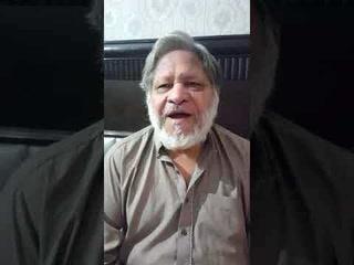 شوگر کے سبب اداکار خالد سلیم موٹا کی دوسری ٹانگ بھی کاٹ دی گئی