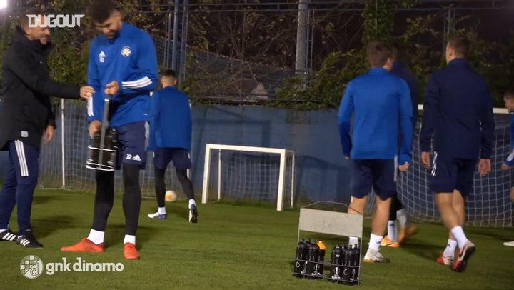 Dinamo continue preparations ahead of Wolfsberg