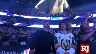 Vegas Golden Knights season opener.