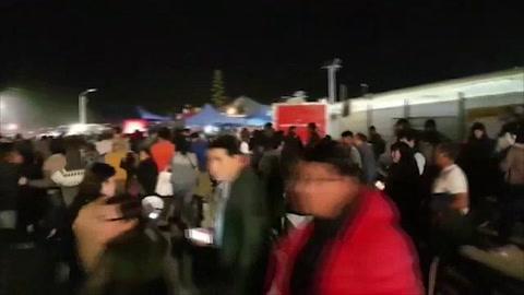 Mueren dos personas durante la evacuación por el anuncio de tsunami, tras un sismo en Chile