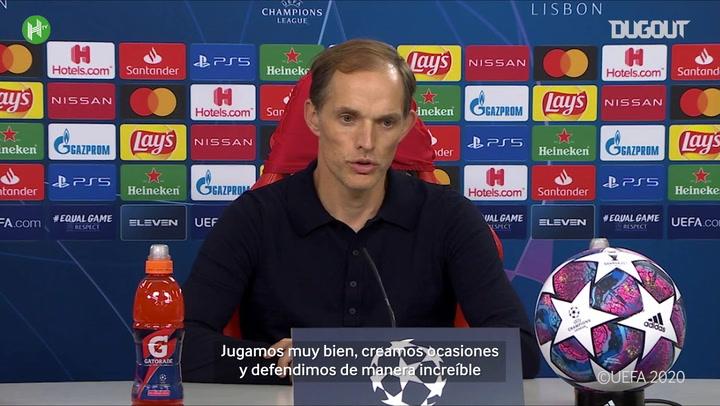 Las declaraciones de Thomas Tuchel tras la derrota del PSG en la final de la Champions